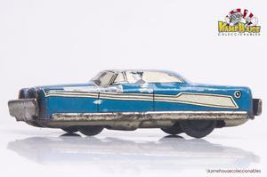 Antiguo Auto De Lata Japones