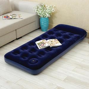 Colchon Inflable 1 plaza con almohada e inflador