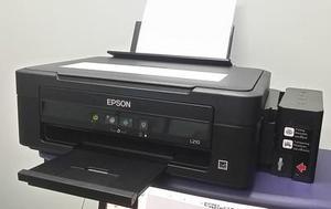 Impresora Epson L210 sistema de tinta continuo original