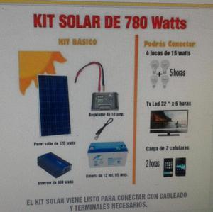 Sistema De Energía Solar, Panel Solarbatería Controlador