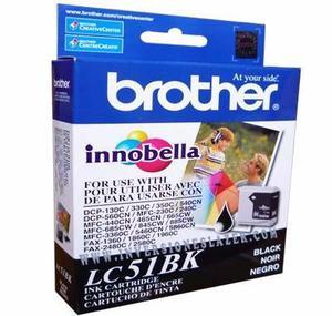 Tinta Brother Original Mfc-240/mfc- Black Lc-51bk, Lince