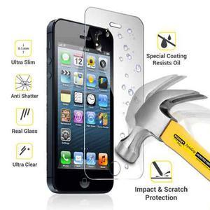2 Micas Vidrio Templado Iphone 5 5s 5c Se - 2 X 15 - Tienda