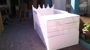Bellas camas cunas realizadas en melamina