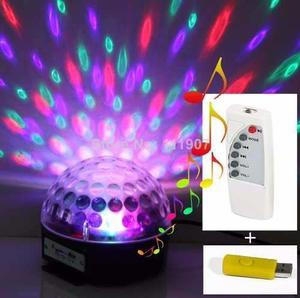 Bola Parlante Mp3 Luces Sicodelicas Magic Ball + Usb Regalo
