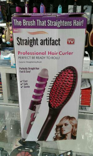 Cepillo Alisador Profesional Más Rizador