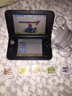 Consola Portatil Nintendo 3Ds Xl +5 Jueg