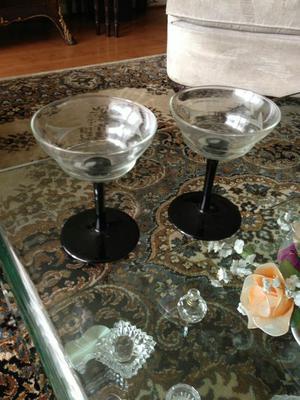 Copas para champagne antiguas filo dorado posot class for Copas para champagne
