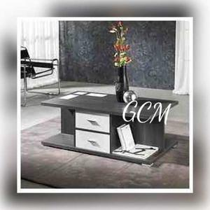 Mueble mesa barra en melamina posot class for Centro mueble