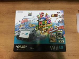 Nintendo Wii U 9/10 Edición Mario 3D World