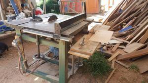 ocasión vendo maquinas de carpintería CIRCULAR Y GARLOPA