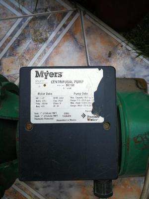 Bomba de Agua Myers