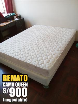 Vendo cama queen posot class for Cama queen precio