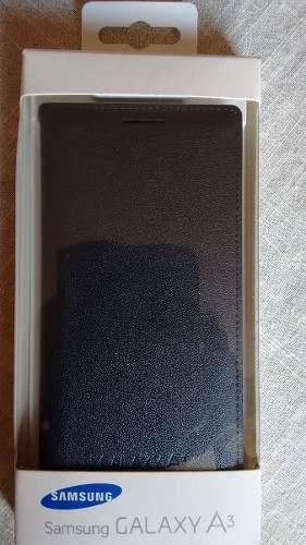 Flip Cover Samsung Galaxy A3! Black Color Original!