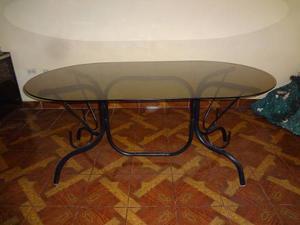 Mesa De Comedor Para 08 Sillas (no Incluye Sillas)