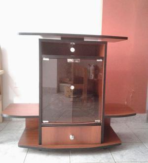 Mueble de metal para televisor equipo de sonido posot class for Muebles para televisor y equipo de sonido