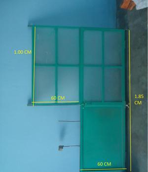Reposteros de metal con cajon y puerta posot class for Puertas de metal con vidrio