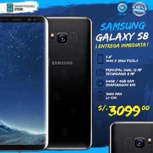 Samsung Galaxy S8 64GB Libre de Fábrica Nuevo Caja Sellada