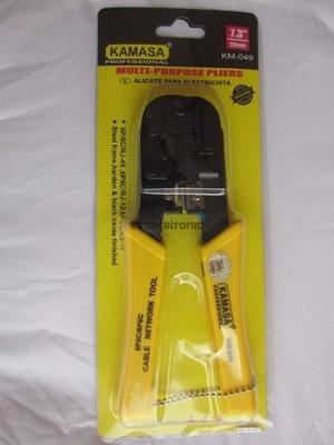 Alicate Ponchador Para Internet Y Telefono Rj45 Y Rj11 Envio