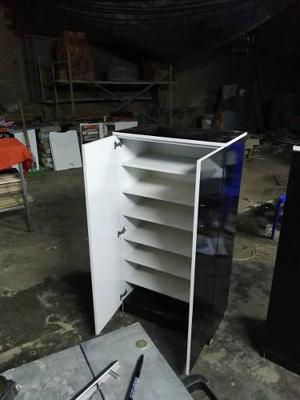 Zapatera porta zapatos de melamina repisas posot class for Zapatera de aluminio