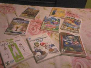 3 Juegos Nintendo Wii Originales ¡remate! Todo