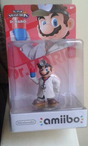 Amiibo Dr. Mario Super Smash Bros Nintendo Wiiu Nuevo