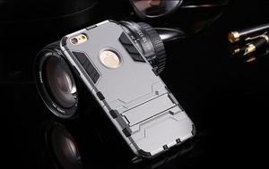 Bumper Case Doble Armor Soport para iPhone 6 Plus