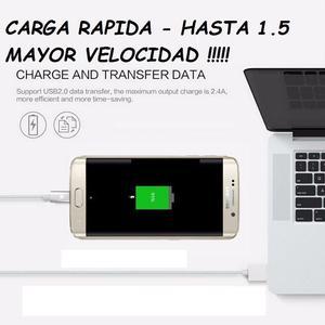CABLE Y CONECTOR DE CARGA IMANTADO, PARA IPHONEANDROID,