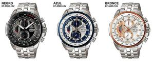 CASIO EDIFICE EFR...NUEVOS..ORIGINAL