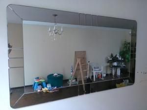 Vendo espejo biselado 2 metros de largo x 1 metro posot for Espejo largo pared