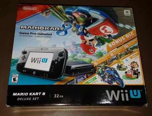 Nintendo Wii U Semi Nuevo 1 Mes Comprado - Perfecto Estado