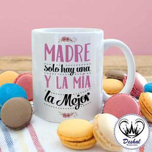 Tazas Dia De La Madre+ Nombre - Envíos A Todo El Pais
