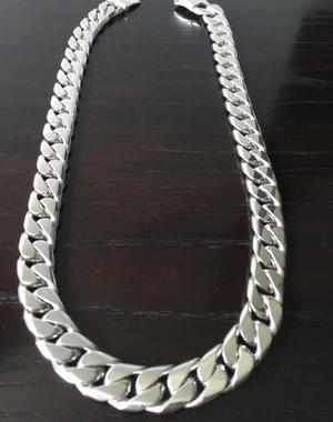 8576d303637f Remato cadena de plata 950 lomo de corvina muy gruesa 150 gr