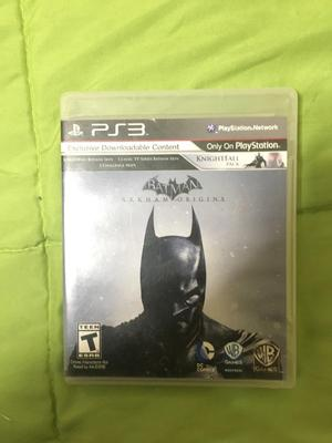 Batman Arkham Origins Ps3