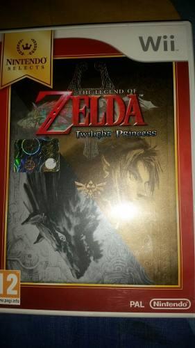 Legend Of Zelda Twilight Princess Como Nuevo Wii Ps2 Ps1 Ps3