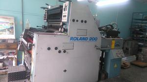 Maquina Offset Roland 200 Lima Posot Class