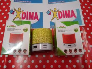 PARLANTE BLUETOOTH USB MP3 RADIO FM IMPORTADOR DIMA