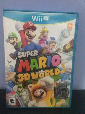 Super Mario 3d World - Nintendo Wii U - Buen Estado