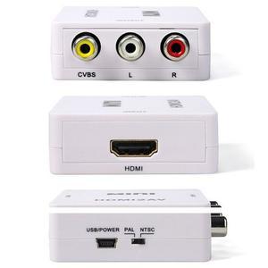 Conversor Video Hd Hdmi A Rca Audio Y Video Dual Ntcs / Pal