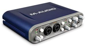 INTERFACE M AUDIO FAST TRACK PRO S/. 500