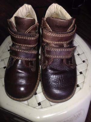 Oferta Remato Zapatos Primigi - Puro Cuero Usado Niño