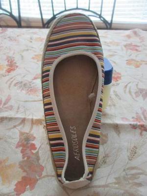 Zapato Espargata Para Mujer Marca Aerosoles Importado De Us