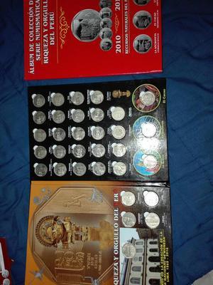 Album de Coleccion de Serie Numismatica