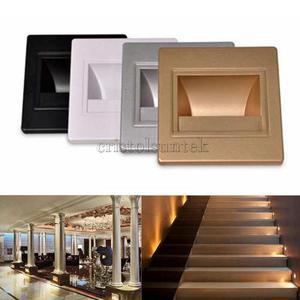 Iluminador De Luz Led, De Pared, Color Blanco, Durable, Ahor
