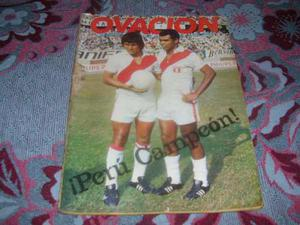 Revista Ovacion Peru Campeon Copa America