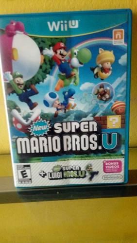 New Super Mario Bros.u Disco Con Caja Abierta...nunca Usado.