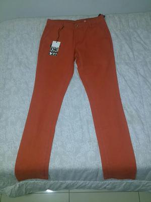 Pantalon Denimlab Pitillo Nuevo Talla 30