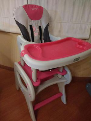 Yamp silla de comer escritorio celeste posot class - Funda silla escritorio ...