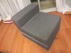 Sofa Cama Junior De Espuma Zebra