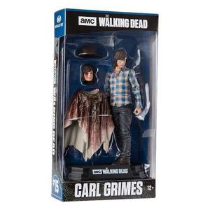 The Walking Dead Carl Grimes Figura De 7 Pulgadas Mc Farlane