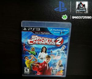 Vendo Sport Champions 2 Ps3